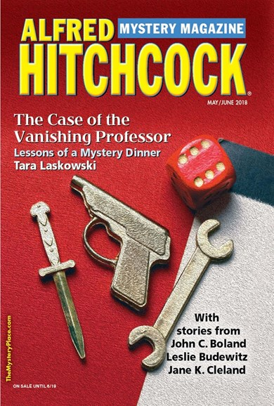 Alfred Hitchcock Mystery Magazine Cover - 5/1/2018