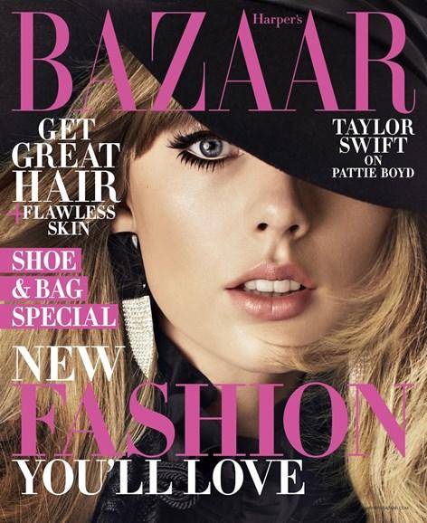 Harper's Bazaar Cover - 8/1/2018