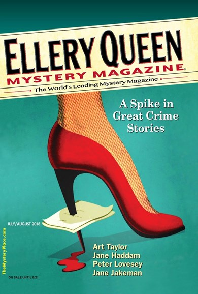 Ellery Queens Mystery Cover - 7/1/2018