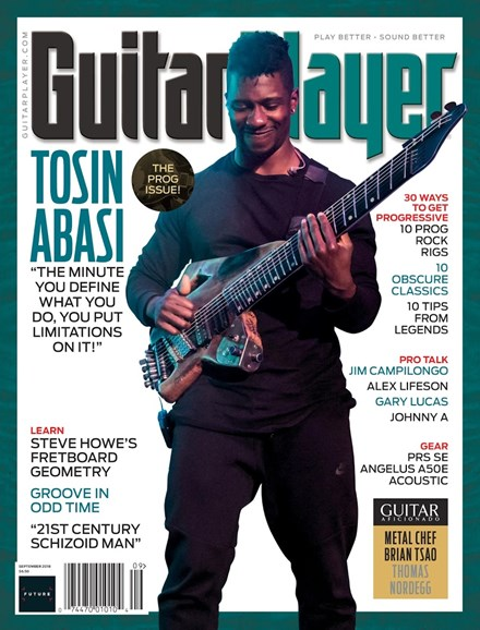 Guitar Player Cover - 9/1/2018