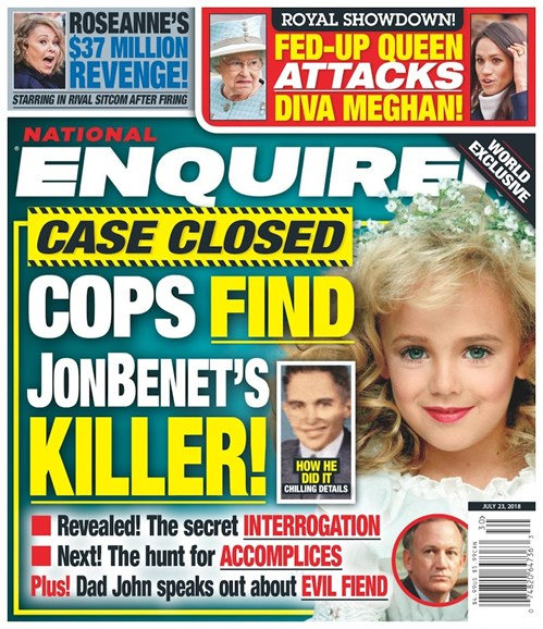 National Enquirer Cover - 7/23/2018