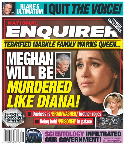 National Enquirer Cover - 7/30/2018