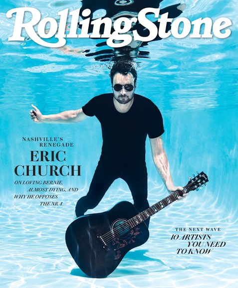 Rolling Stone Cover - 8/1/2018