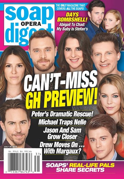 Soap Opera Digest Cover - 7/30/2018