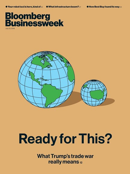 Bloomberg Businessweek Cover - 7/23/2018