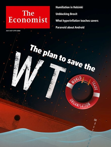 The Economist Cover - 7/21/2018