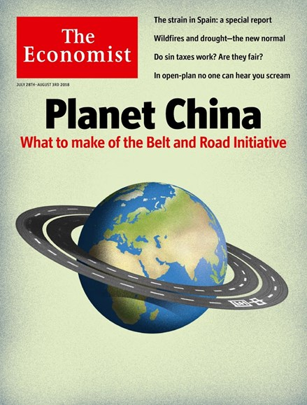 The Economist Cover - 7/28/2018