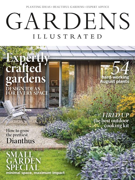 Gardens Illustrated Cover - 8/1/2018