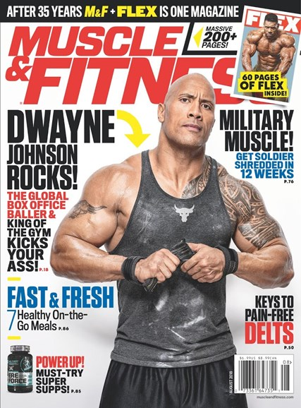 Muscle & Fitness Cover - 8/1/2018