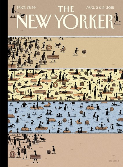 The New Yorker Cover - 8/6/2018
