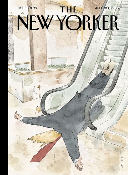 The New Yorker Cover - 7/30/2018