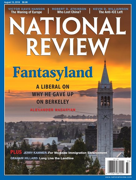 National Review Cover - 8/13/2018