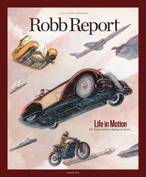 Robb Report Cover - 8/1/2018