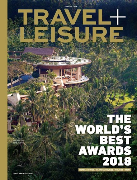 Travel + Leisure Cover - 8/1/2018
