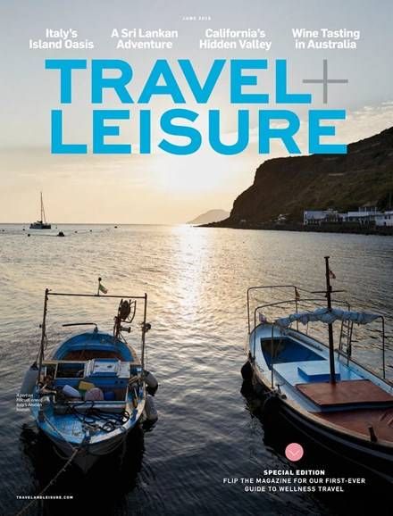 Travel + Leisure Cover - 6/1/2018