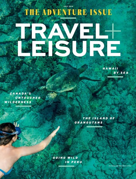 Travel + Leisure Cover - 7/1/2018