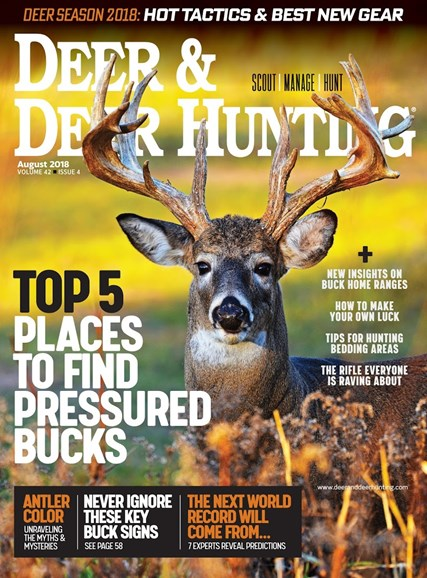 Deer & Deer Hunting Cover - 8/1/2018