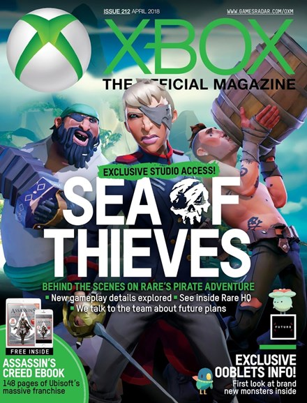 Official Xbox Magazine Cover - 4/1/2018