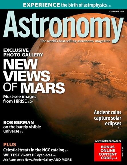 Astronomy Cover - 9/1/2018