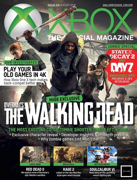 Official Xbox Magazine Cover - 8/1/2018
