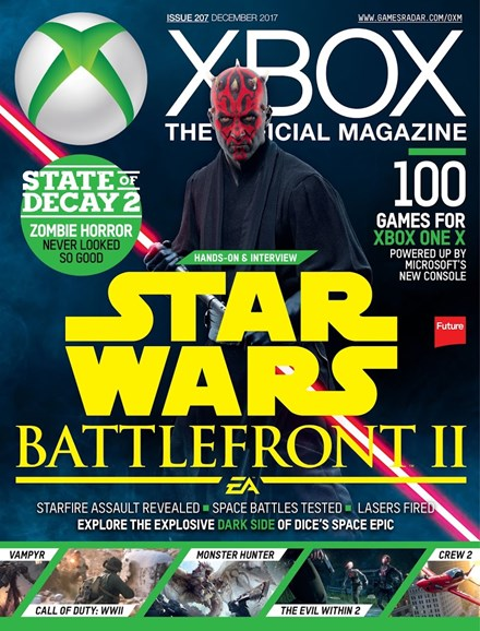 Official Xbox Magazine Cover - 12/1/2017