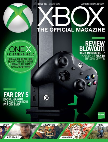 Official Xbox Magazine Cover - 12/25/2017