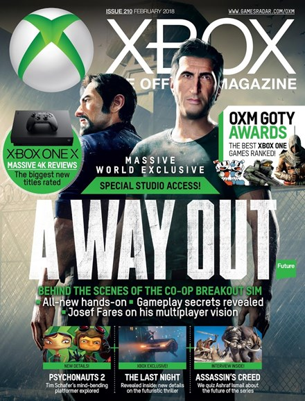 Official Xbox Magazine Cover - 2/1/2018