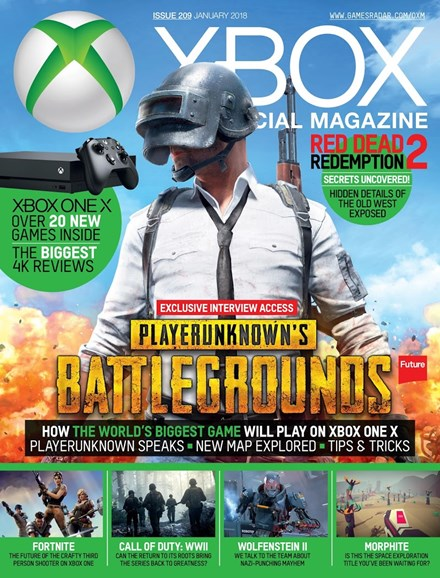 Official Xbox Magazine Cover - 1/1/2018