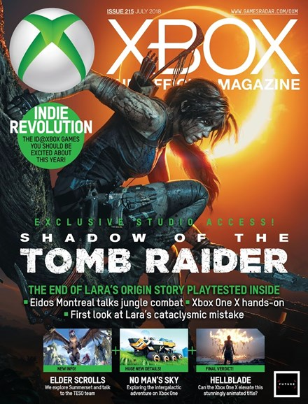 Official Xbox Magazine Cover - 7/1/2018