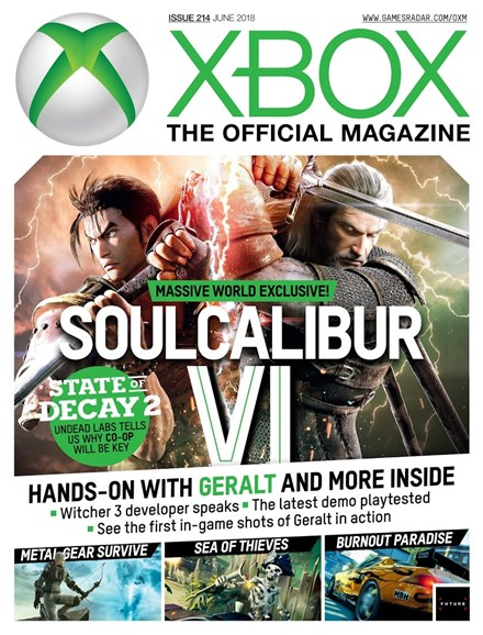 Official Xbox Magazine Cover - 6/1/2018