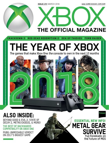 Official Xbox Magazine Cover - 3/1/2018