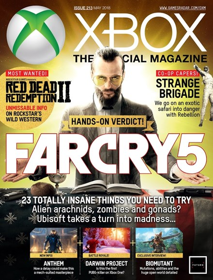 Official Xbox Magazine Cover - 5/1/2018