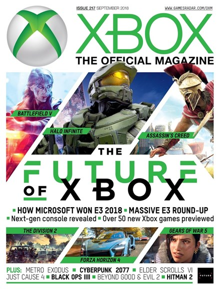 Official Xbox Magazine Cover - 9/1/2018