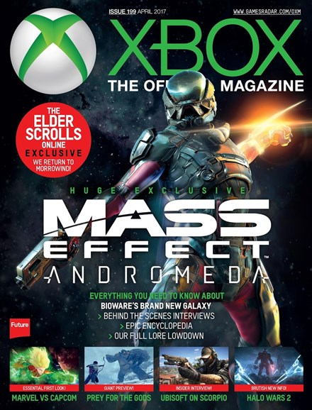 Official Xbox Magazine Cover - 4/1/2017
