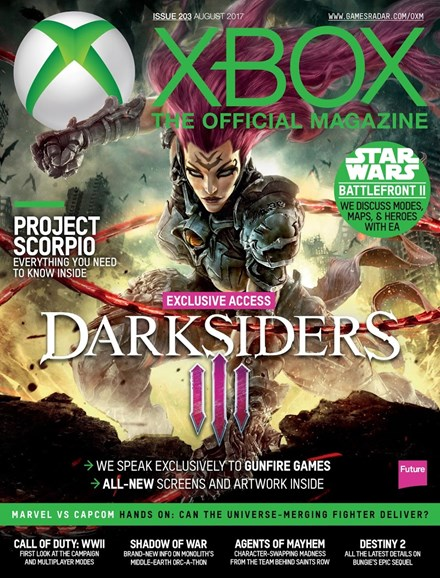 Official Xbox Magazine Cover - 8/1/2017