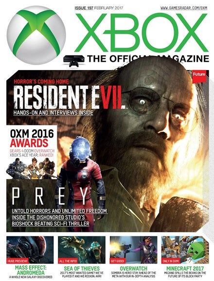 Official Xbox Magazine Cover - 2/1/2017