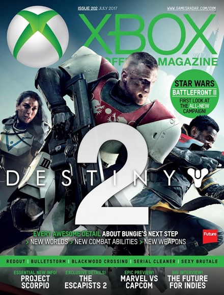 Official Xbox Magazine Cover - 7/1/2017