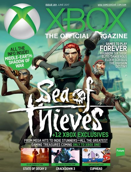 Official Xbox Magazine Cover - 6/1/2017