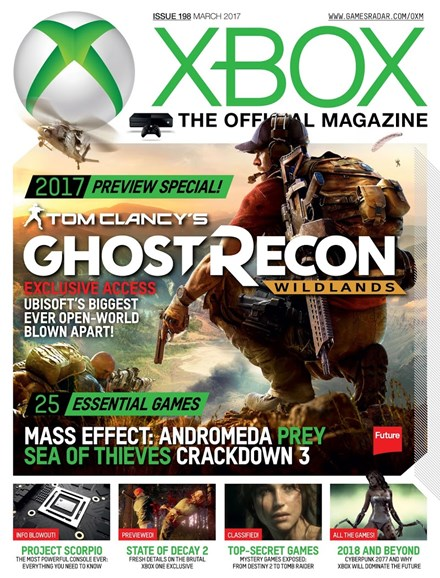 Official Xbox Magazine Cover - 3/1/2017
