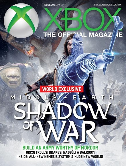 Official Xbox Magazine Cover - 5/1/2017