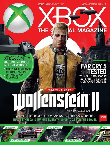 Official Xbox Magazine Cover - 11/1/2017