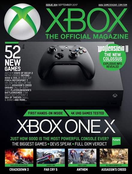Official Xbox Magazine Cover - 9/1/2017