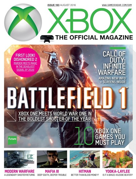 Official Xbox Magazine Cover - 8/1/2016