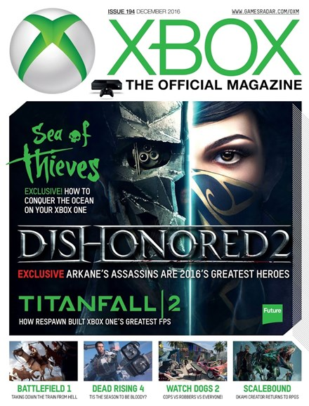 Official Xbox Magazine Cover - 12/1/2016