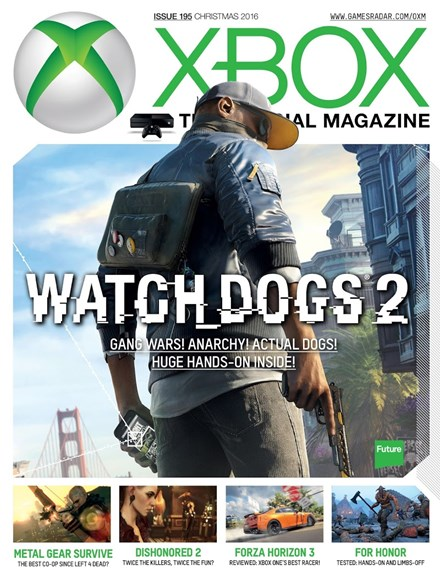 Official Xbox Magazine Cover - 12/25/2016