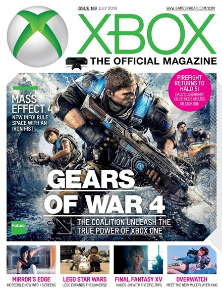 Official Xbox Magazine Cover - 7/1/2016