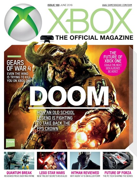 Official Xbox Magazine Cover - 6/1/2016