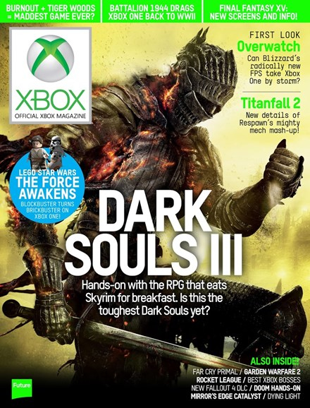 Official Xbox Magazine Cover - 5/1/2016