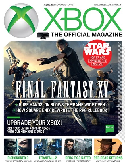 Official Xbox Magazine Cover - 11/1/2016