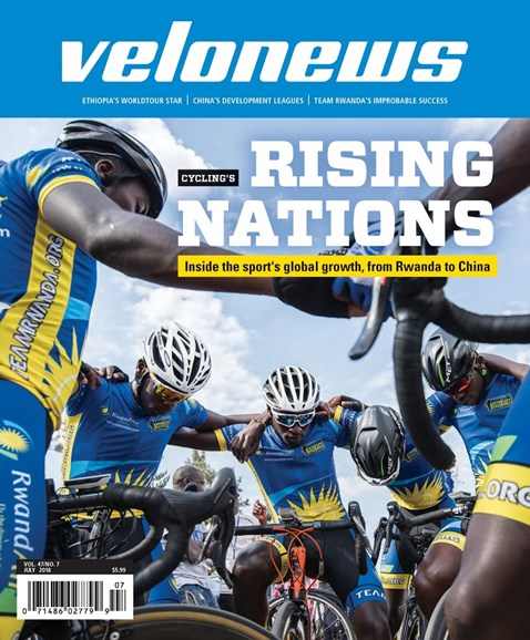 VeloNews Cover - 7/1/2018